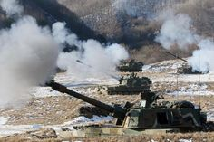K9 Thunder 155mm Self-Propelled Howitzer, South Korea