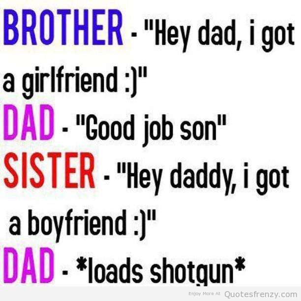 Bf and GF Quotes Weirdd | ... and sister quotes for facebook cover funny quotes of brothers and