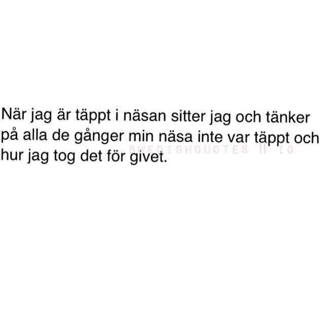 Se det här fotot av @swedishquotes på Instagram • 3,574 gilla-markeringar