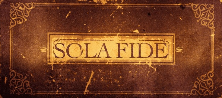 "Sola fide (Latin: by faith alone), also historically known as the doctrine of justification by faith alone, is a Christian theological doctrine that distinguishes most Protestant denominations from Catholicism, Eastern Christianity, and some in the Restoration Movement.  The doctrine of sola fide or ""by faith alone"" asserts God's pardon for guilty sinners is granted to and received through faith, conceived as excluding all ""works"", alone. All humanity, it is asserted, is fallen and sinful…"