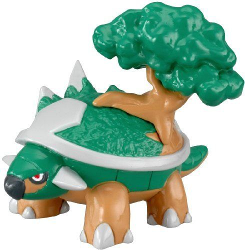 Pokemon Black & White Takaratomy M Figure - M-113 - Torterra/Dodaitose by Takaratomy. $8.33. Cute and collectible. Imported from Japan. New and sealed inside retail packaging. Perfect as a gift for all Pokemon fans. Comes with rotating stand. From the Manufacturer                Torterra/Dodaitos in original Japanese language versions, is the final evolution of the Turtwig evolutionary line, It evolves from Grotle. It most likely resembles a Galápagos Tortoise. ...