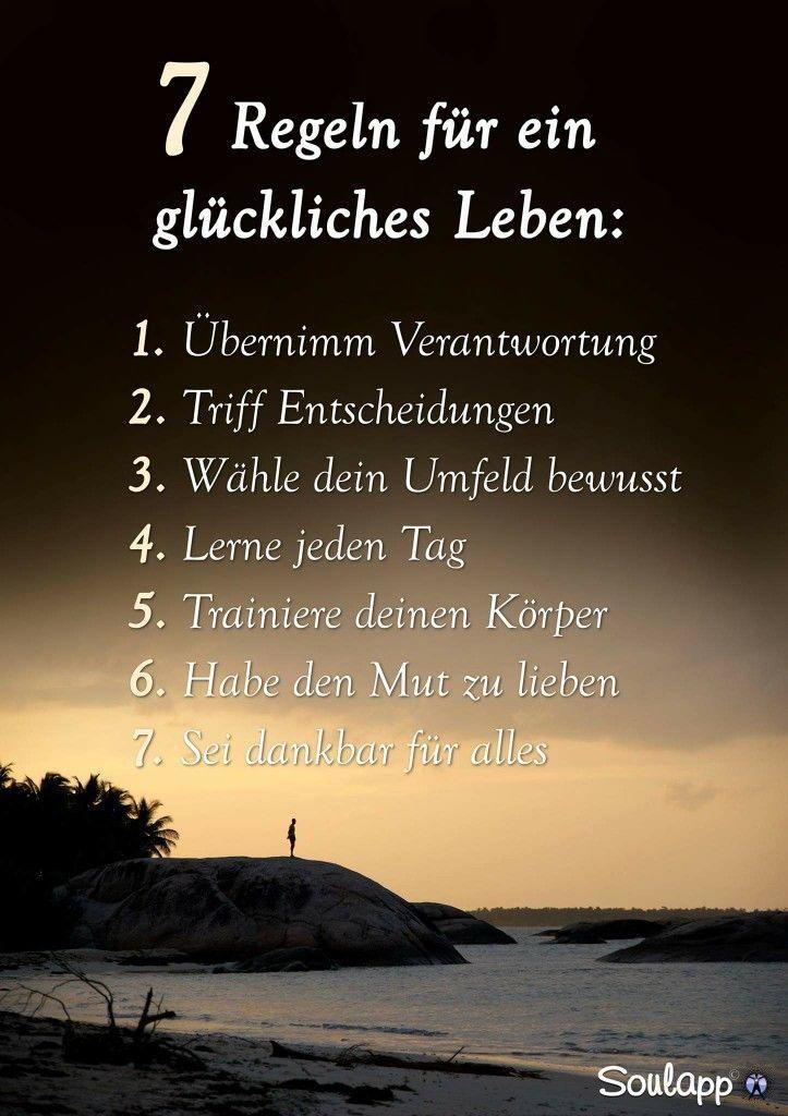 glückliches leben sprüche 7 Regeln für ein glückliches Leben | Einfach Leben   Mit  glückliches leben sprüche