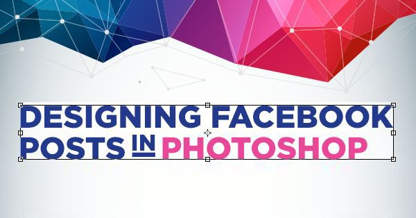 Designing Facebook posts in Photoshop. Creative #infographic