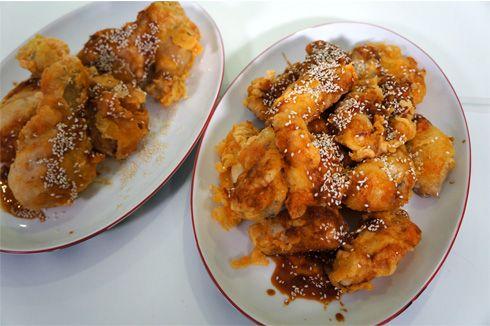 Κορεάτικο τηγανητό κοτόπουλο