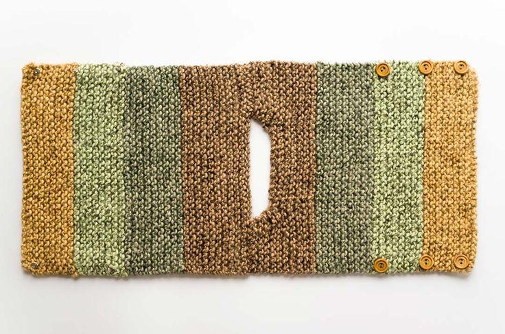 Pechera de bebe a palillos para 3 a 6 meses [Patron de tejido] - Marina Torreblanca Blog