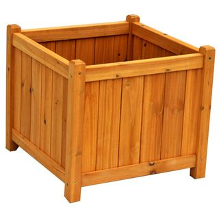 Square Planter Box | Overstock.com Shopping - Big Discounts on Planters