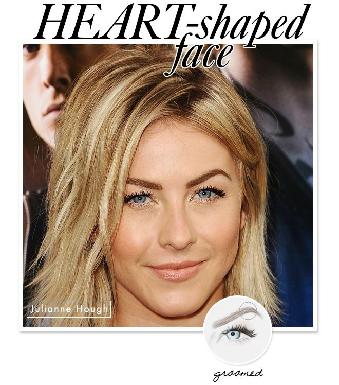25 trending heart shape face ideas on pinterest heart shaped the best eyebrow shapes to flatter your face urmus Images