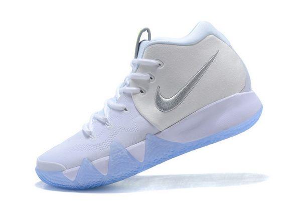 a58cea02130 Men Nike Kyrie 4 White Silver Ice Blue