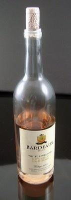 Fake Food Zinfandel Wine Bottle