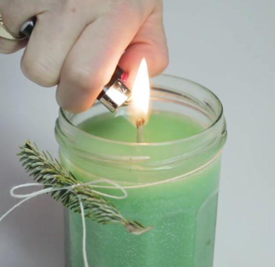 how to make a homemade candle wick