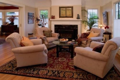 4 club chairs arrangement home 4 chair conversation - Interior arrangement and design association ...