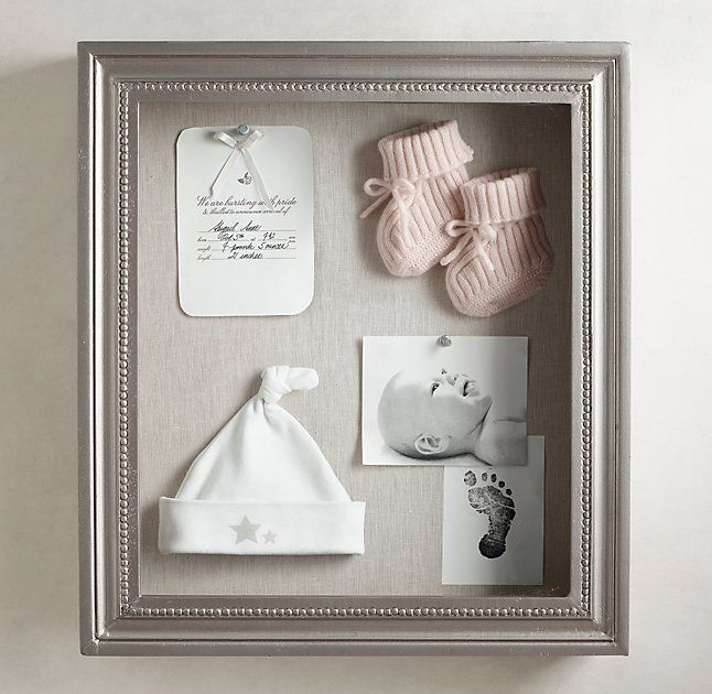 RH Baby & Child & # 39; s Antik Zinn Shadow Box Holz: Unser …