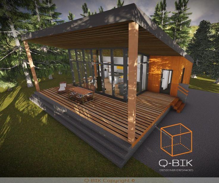 Mini maison 2 chambres 800 pi²