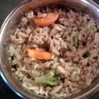 Homemade Dog Food - home made dog food needs to be 1/3 meat and 2/3 rice and veggies