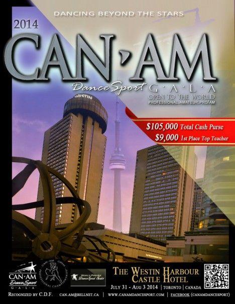 Can-Am Dancesport Gala end of July - TorontoDance.com