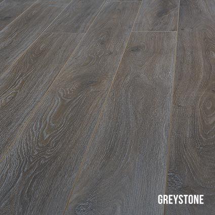 Heartridge Laminate Flooring in Smoked Oak, Greystone