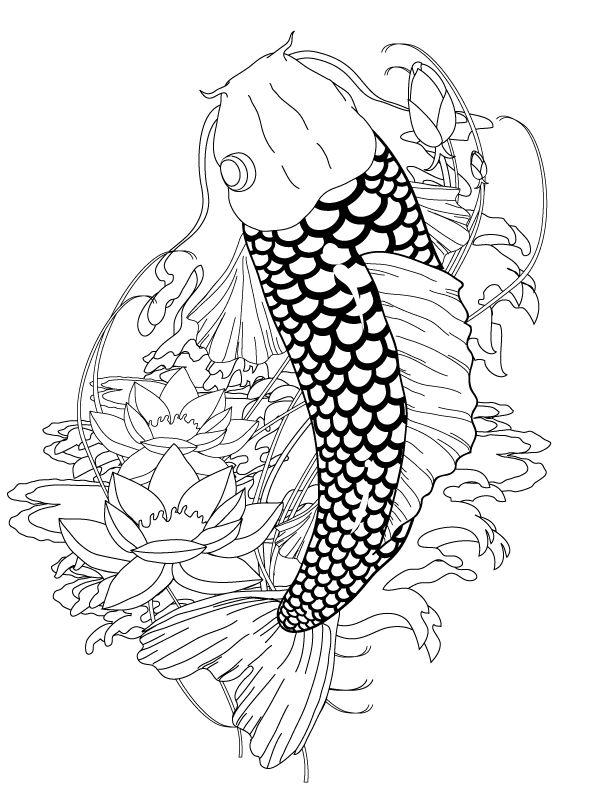 14 best tattoo images on Pinterest Fish tattoos Koi fish tattoo