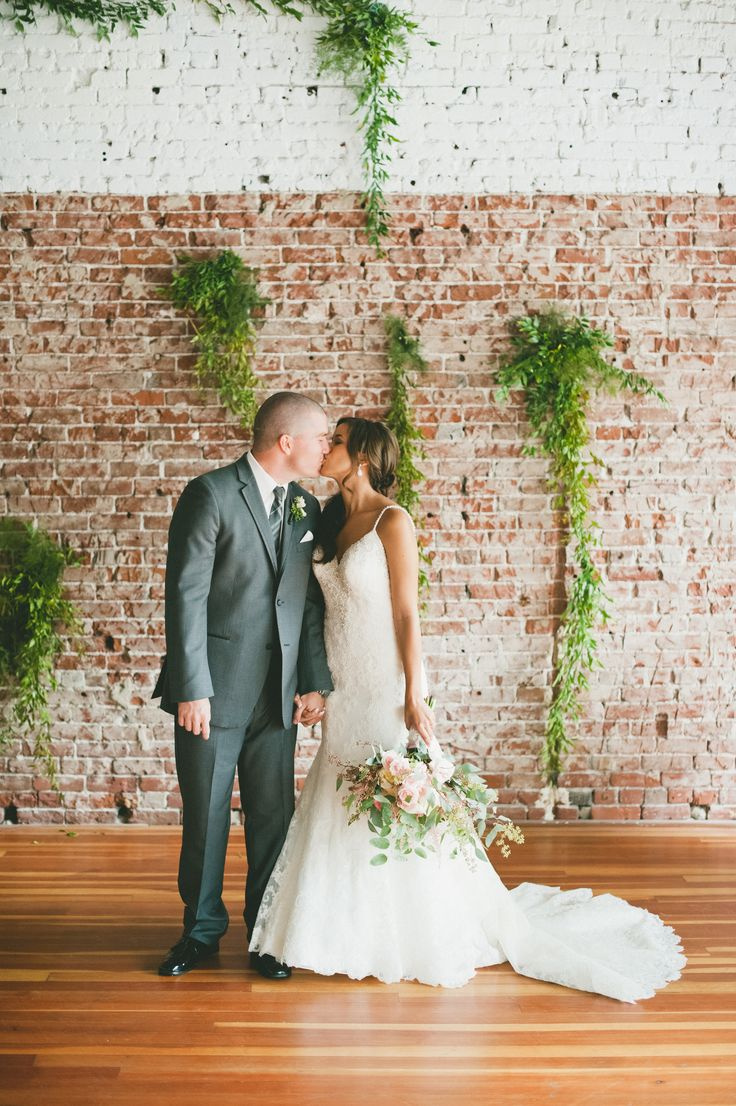 beautiful wedding locations in southern california%0A A Romantic  Natural Wedding at The Loft on Pine in Long Beach  California