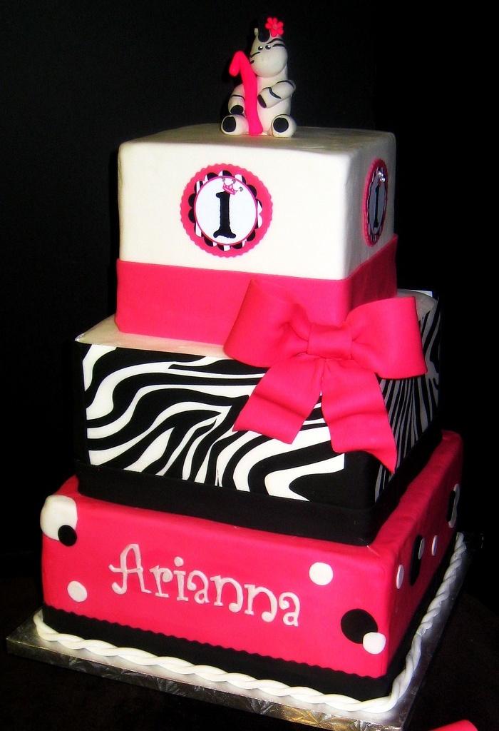 Cake Designs Zebra Print : 25+ Best Ideas about Pink Zebra Cakes on Pinterest Zebra ...