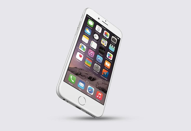 Floating iPhone 6 Plus Mockup