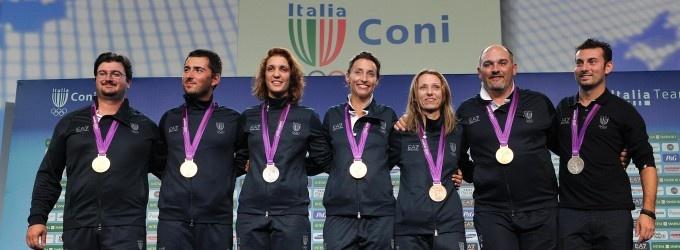 #Olimpiadi: Oro Nell Arco, 2012 Olympics, Tesconi Argento, Olympics Games, London 2012, Italia Oro, Tripletta Fioretto, Di Francisca, Olimpiadi 2012