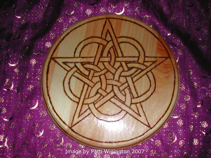 You can spend a small fortune on altar tools and magical supplies, but if you'd like to make your own pentacle, follow these simple steps.