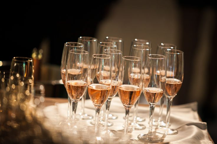 Welcome drinks for special wedding