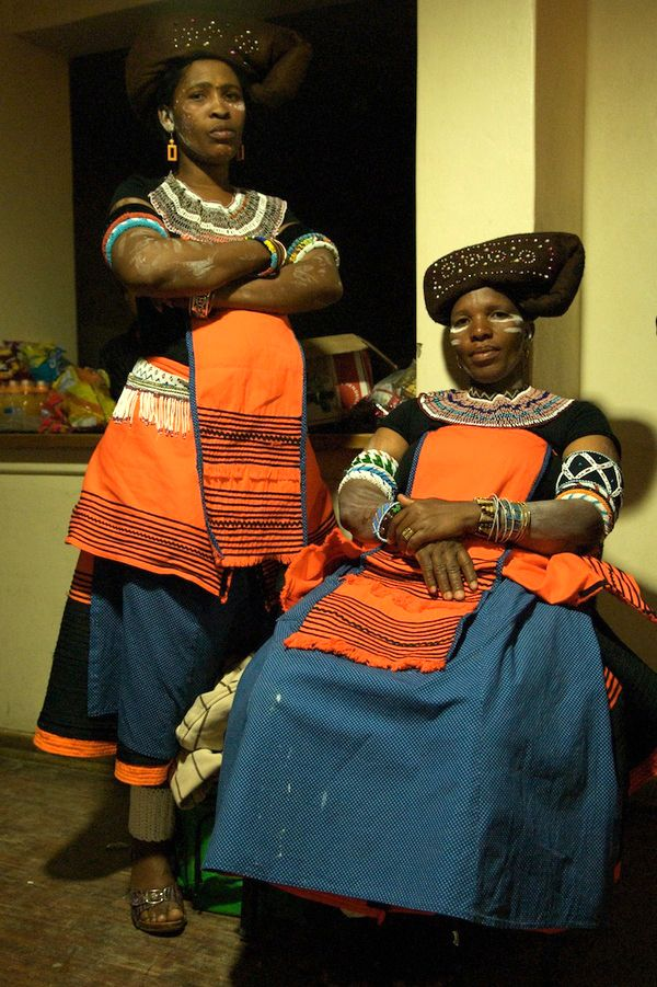 South Africa   Xhosa woman. Participants at a traditional dance festival. Mount Frere, 2011   ©Anton Crone