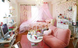 ピンク大好き♪プリンセスワンルーム