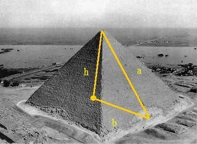 "The Golden Ratio in Architecture 1) The Great Pyramid of Giza The Great Pyramid of Giza in 4700 B.C. with proportions according to a ""sacred ratio✨"