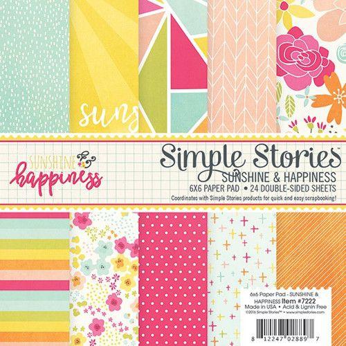Sada scrapbook. papírů SS /Sunshine and Happiness