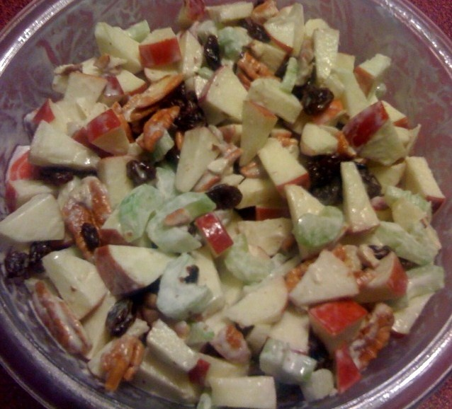 Sweet Tea and Cornbread: Waldorf Salad...or Apple Walnut Salad!