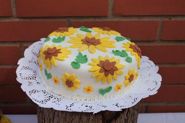 Torta girasoles
