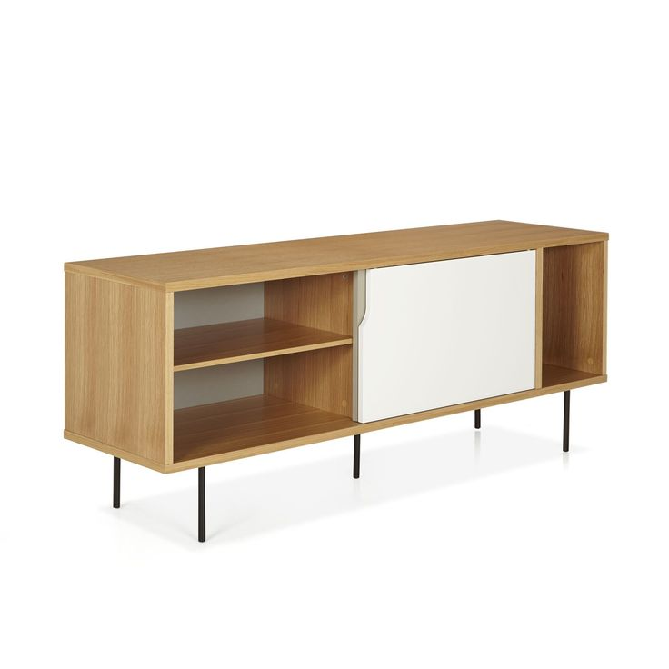 Mateo bain vintage buffet and euro for Meuble tv quilda