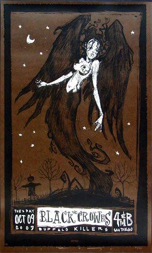 Scrojo, Black Crowes