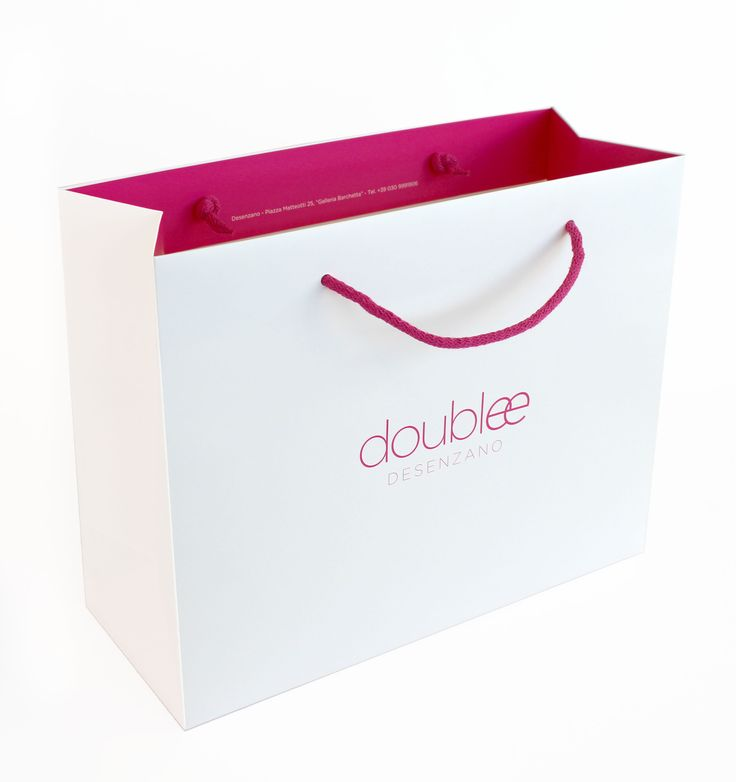 Paper bag for Doublee / Giustacchini Packaging