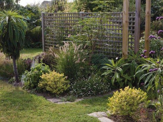 1000 id es sur le th me pare vent terrasse sur pinterest for Palissade jardin originale