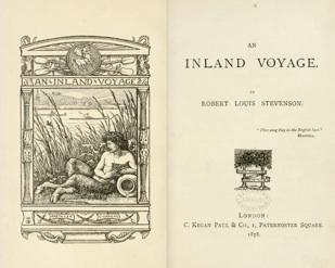 Folha de rosto de Island Voyage - publicação de 1878.