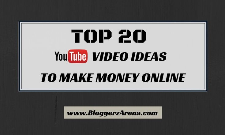 how to make money out of youtube