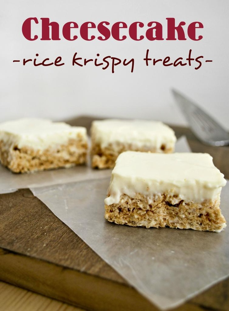 Mallow and Co.: Cheesecake Rice Krispies