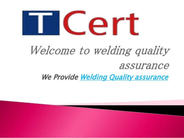 The particular cornerstones inside #ISO3834 are classified as the pursuing https://isocertificationbody.wordpress.com/2015/04/28/know-about-welding-quality-assurance/