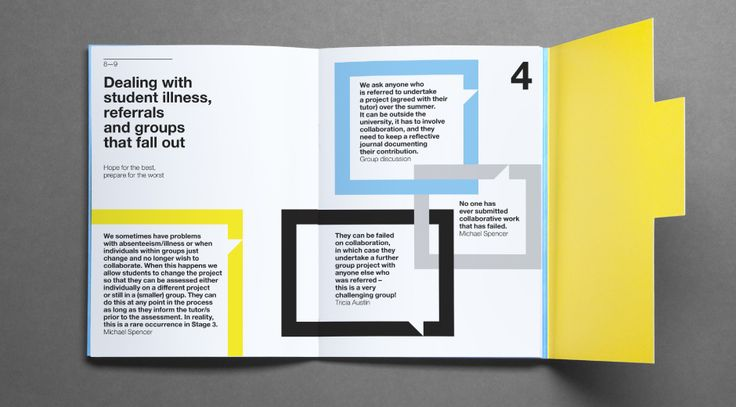 University of the Arts London - print by Alphabetical studio