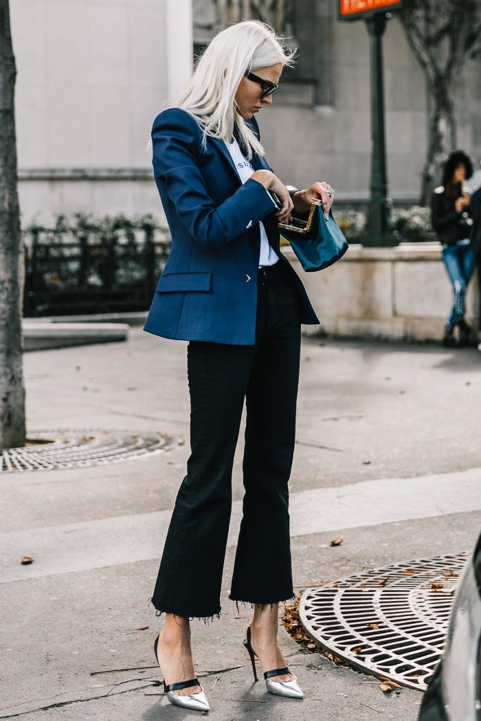 6e9f948843a Here s how to wear flared jeans in 2018. Take some notes from some of our  favorite fashion girls.
