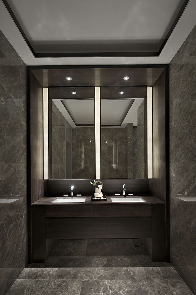 4842 best bath design images on pinterest bathroom luxury bathrooms and bathrooms for Luxury bathroom vanity lighting
