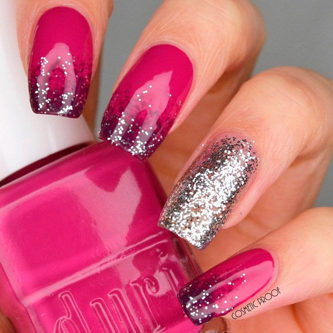 Ways How to Wear Hot Pink Nails ★ See more: https://naildesignsjournal.com/ways-wear-hot-pink-nails/ #nails