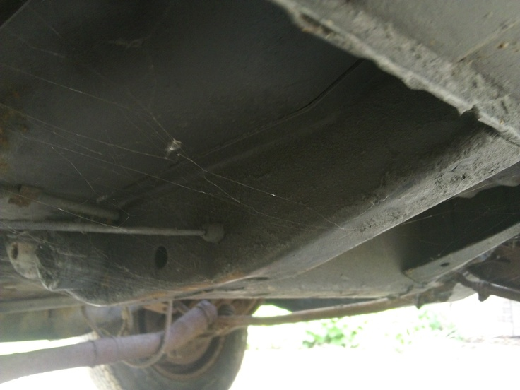 n/s/r chassis legs in front of axle - 100% solid