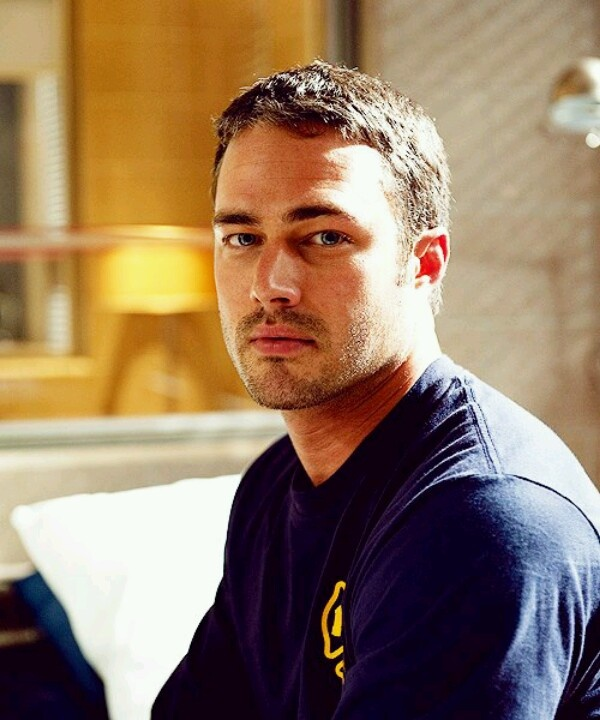 Taylor Kinney aka Kelly Severide from Chicago Fire. It's because he's a fireman :]]