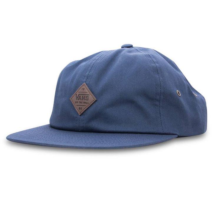 Vans Cap Nesbitt Jockey Dress Blues Unstructured Strapback Skateboard Hat   snapchat @ http://ift.tt/2izonFx