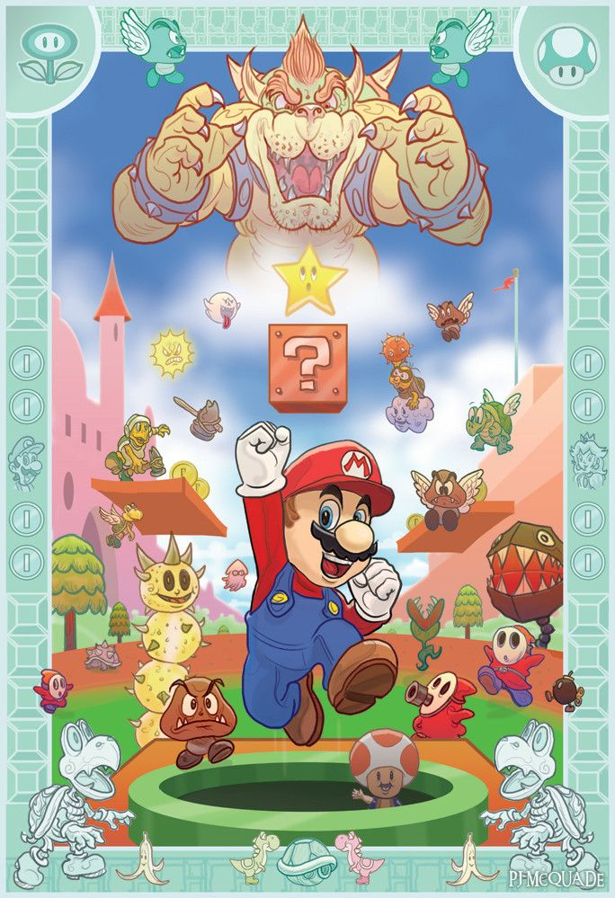 PJ McQuade - It's a Me, Mario!