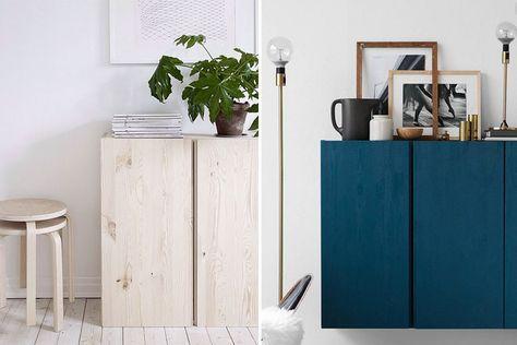 10 snygga tips: Så stylar du Ikea-skåpet Ivar